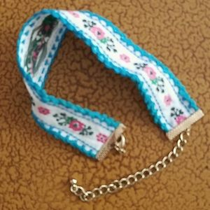Colorful Choker by Wild Flower
